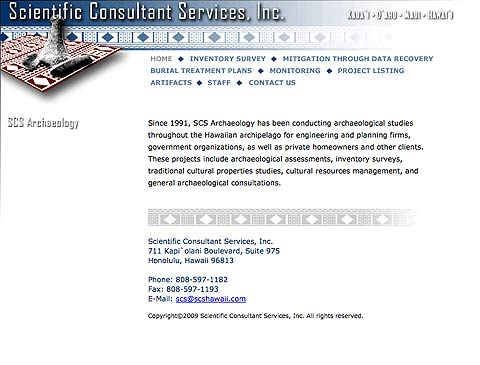 Scientific Consulting Services
